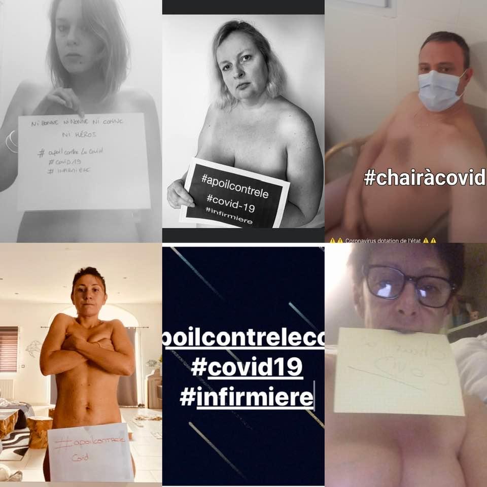 infermieri francesi nudi