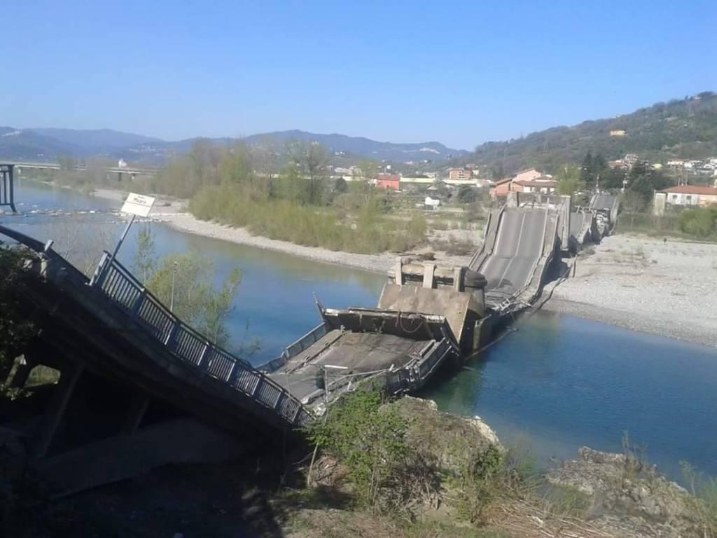 crolla ponte di Caprigliola