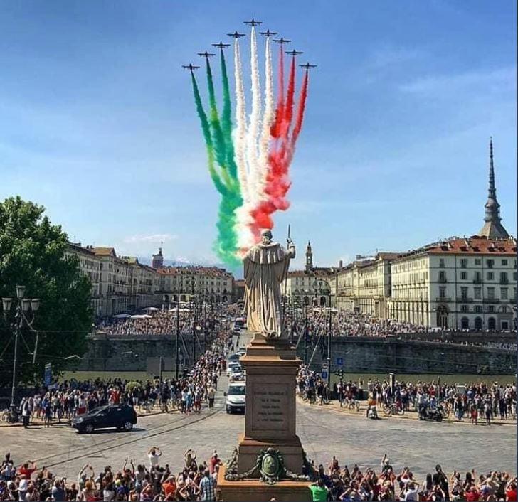 torino frecce tricolori