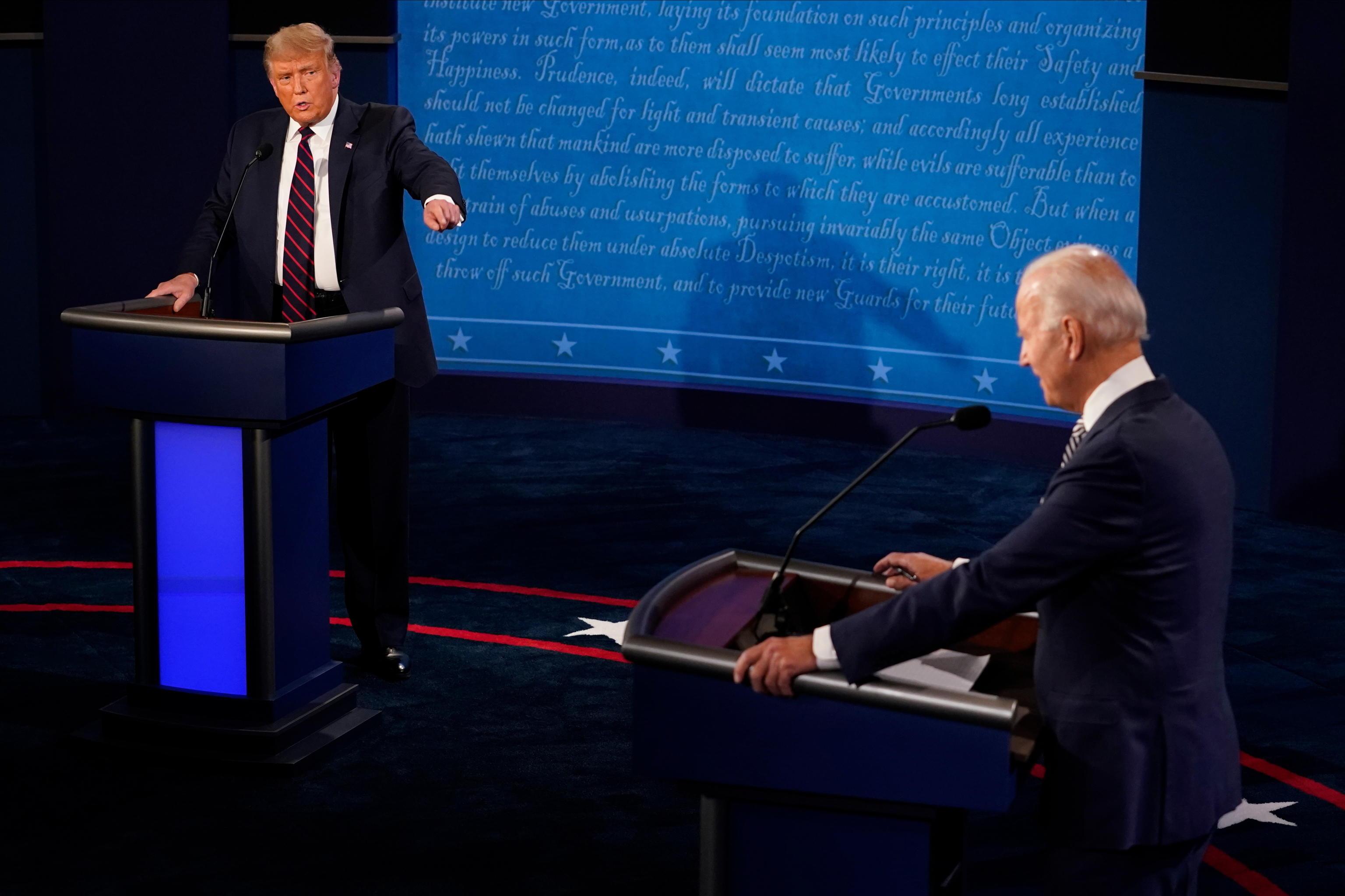 Biden a Trump: sei peggiore della storia