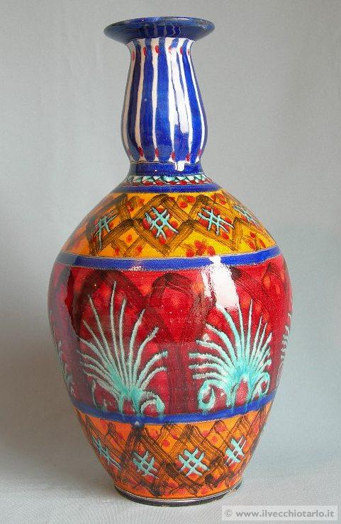 vaso maioliche santo stefano camastra sicilia