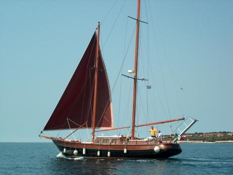 Barche a vela usate  Brignone  Schooner legno  parenzo