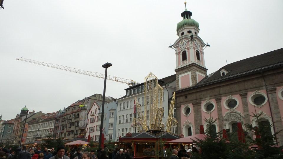 Innsbruck -Il mercatino di Maria-Theresien-Straẞe