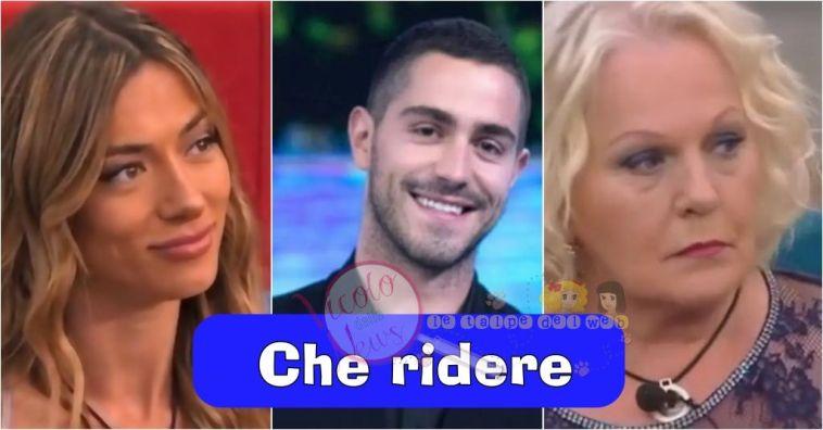 'Grande Fratello Vip' Tommaso Zorzi guardando la puntata ironizza su Katia Ricciarelli e Soleil Sorgé
