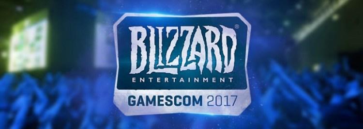 Blizzard Gamescom 2017