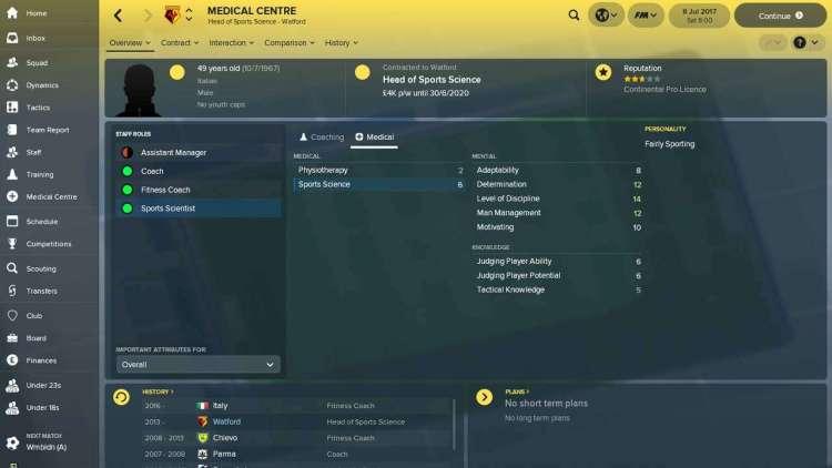 Football Manager 2018 E