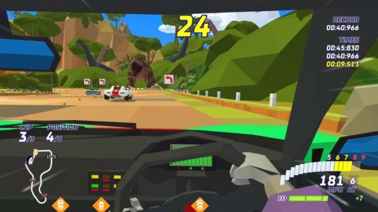 Hotshot Racing sfreccia da oggi su Pc e console - IlVideogioco.com