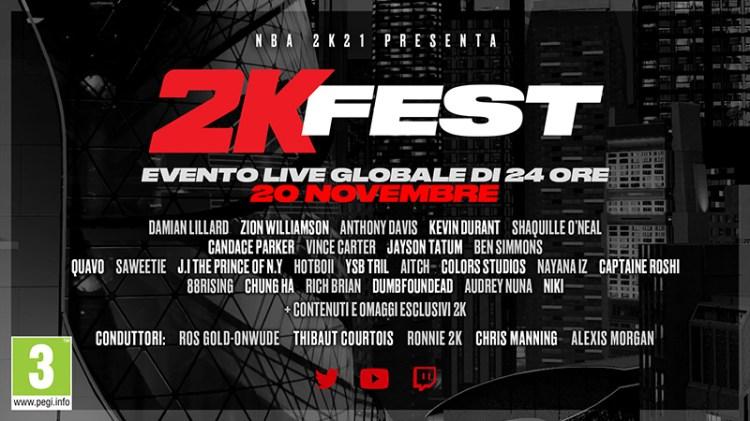 2KFest al via domani con un fitto programma - IlVideogioco.com