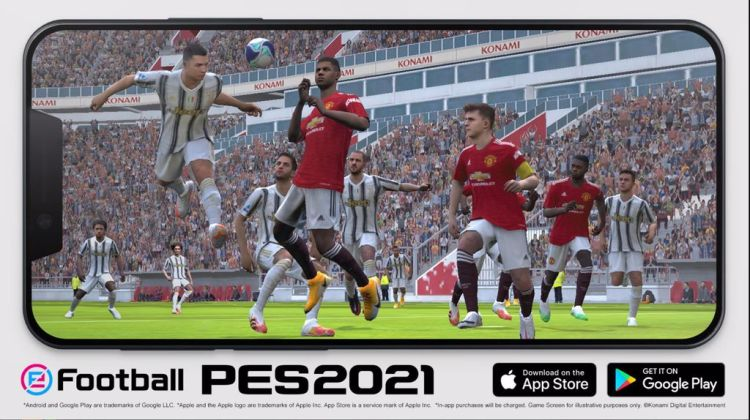 eFootball PES 2021 Mobile, superati i 400 milioni di download