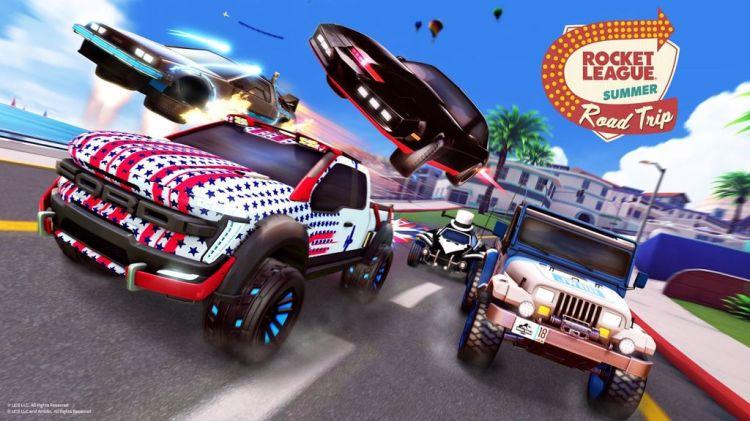 Rocket League, ecco il Summer Road Trip - IlVideogioco.com