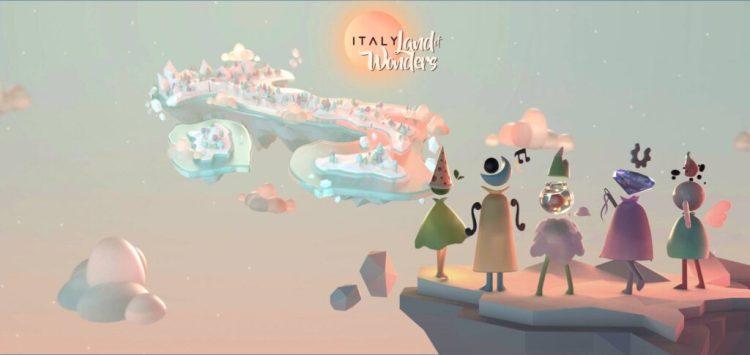 ITALY. Land of Wonders, cultura e videogiochi si incontrano