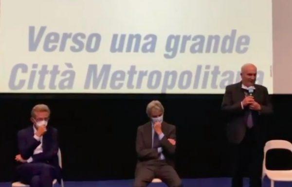 Fioroni presenta il candidato sindaco di Napoli, Gaetano Manfredi, e la lista dei Cattolici Democratici