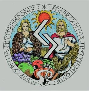 mandala runico evolutivo