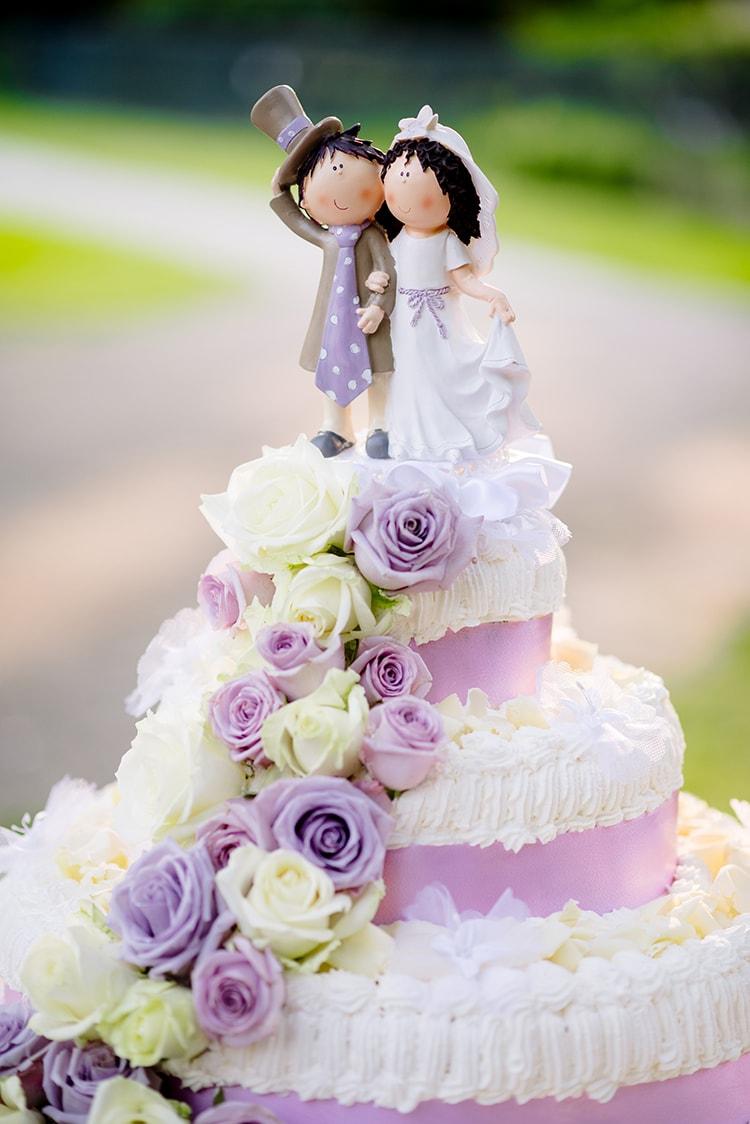 Matrimonio color glicine la storia di Mattia e Sabrina