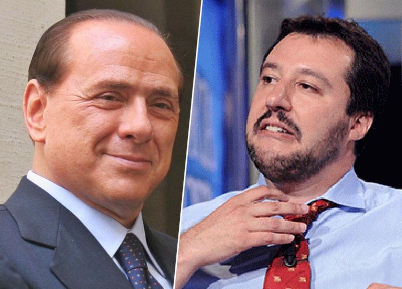 """Truffa centrodestra, Berlusconi smentisce Salvini: """"Non aboliremo la legge Fornero"""""""