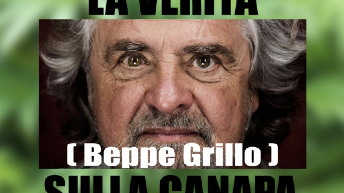 Beppe Grillo: Discorso del 1997 sulla scomparsa della Canapa (video)