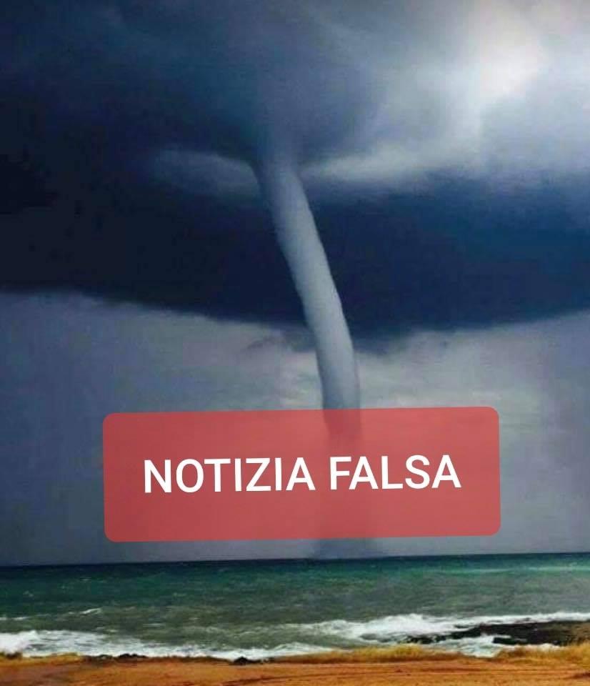 Notizia Falsa: allarme meteo di oggi lanciata per le marine