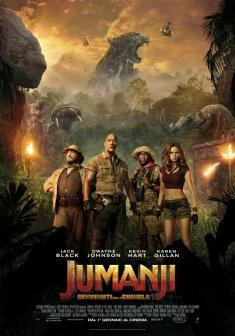 Film : Jumanji Benvenuto nella giungla