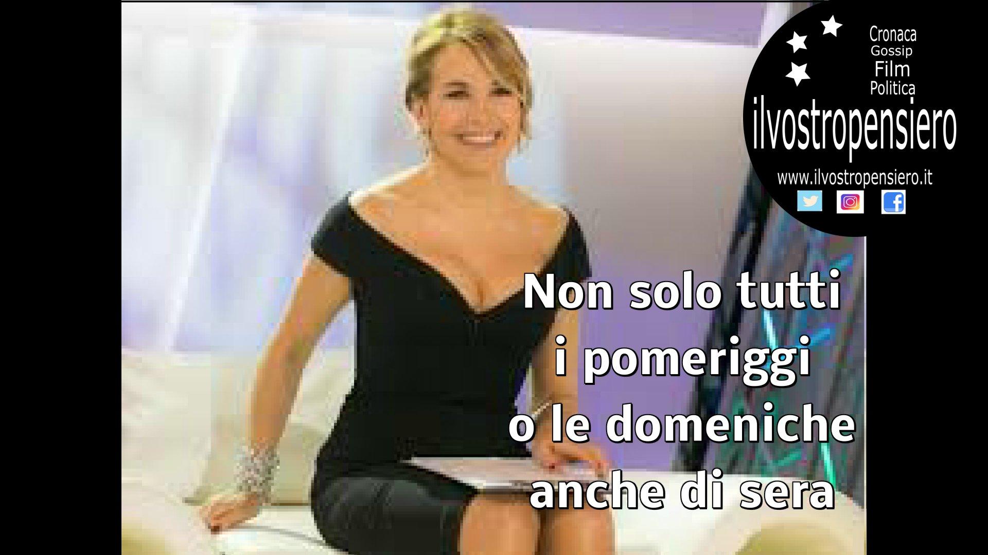 Barbara D'Urso: #livenoneladurso fotocopia di pomeriggio5 e domenicalive