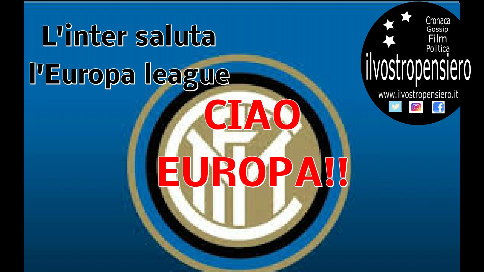 Inter saluta l'Europa League, CIAO Europa!Napoli perde 3 a 1 a Salisburgo ma passa ai quarti