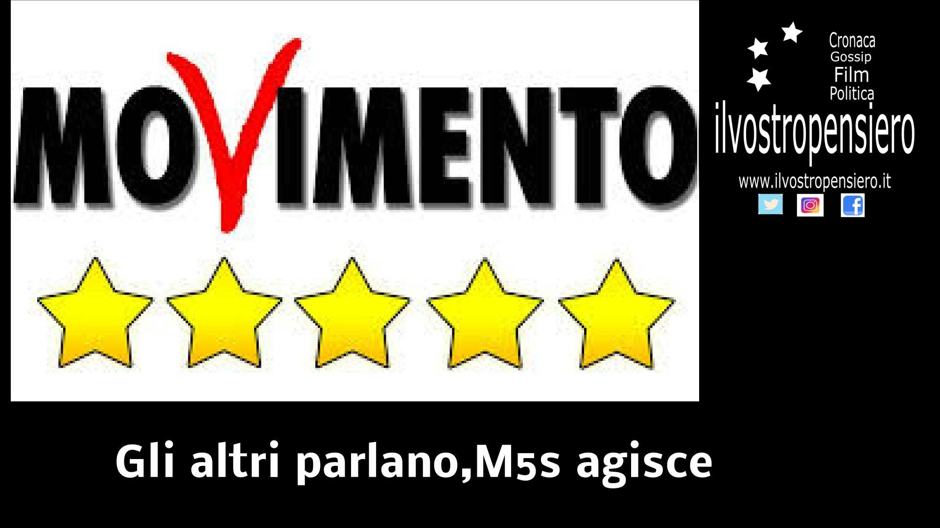 Movimento 5 stelle: SEMPRE AL FIANCO DI CHI CREA LAVORO IN ITALIA (video)
