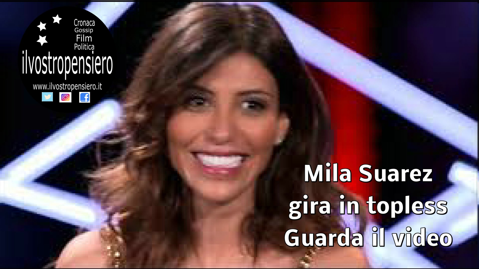 Grande Fratello 16: anche Mila Suarez gira in casa in topless (guarda il video)