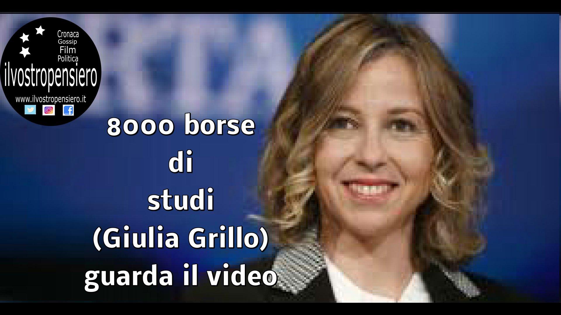 Movimento 5 stelle: Giulia Grillo 8000 borse di studi per medici specializzandi(guarda il video)
