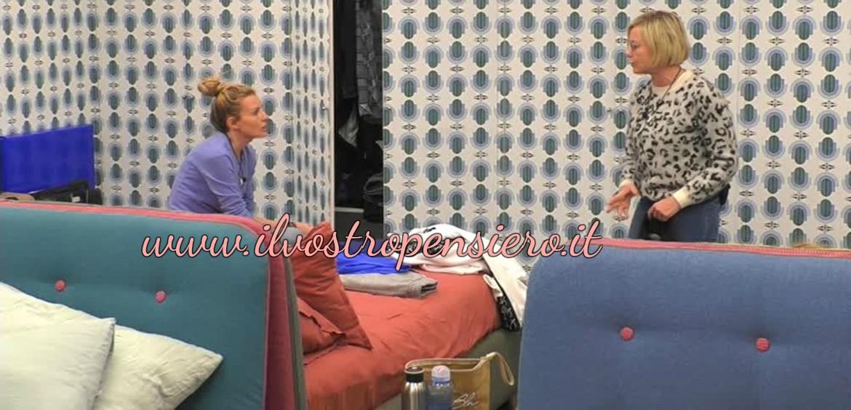 Grande fratello vip, Antonella Elia:esplode la gelosia nei confronti di Licia.