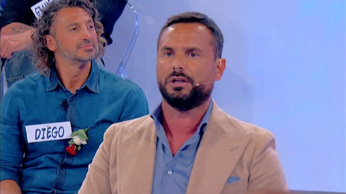 Uomini e Donne: Enzo Capo a cena con una modella.