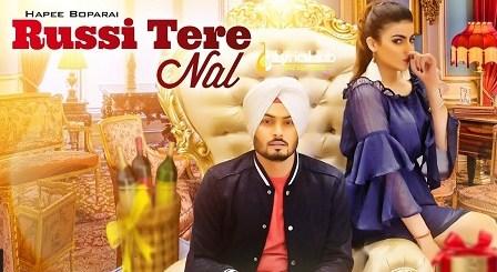 Russi Tere Nal Lyrics - Hapee Boparai | Kabal Saroopwali, Jassi X