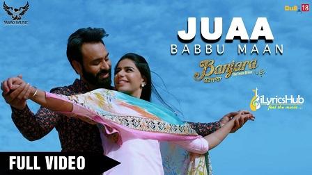 Juaa Lyrics - Babbu Maan | Banjara