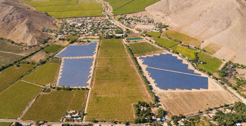 Parques solares Sol y Luna de 6,8 MW (Chile)