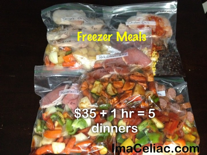 Freezer Meals – Take two