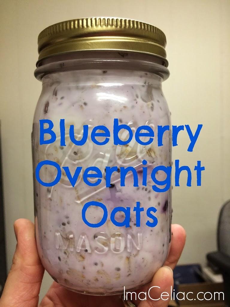 Gluten Free Overnight Oats - I'm A Celiac
