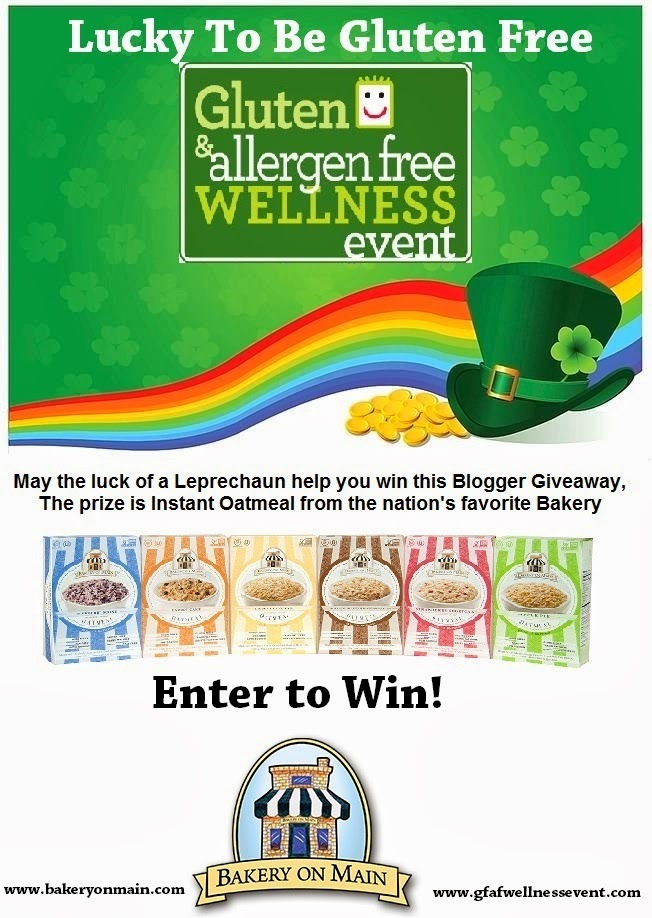 Lucky to be Gluten Free with Bakery On Main #Giveaway