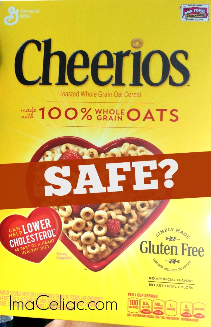 Are the Gluten Free Cheerios Safe