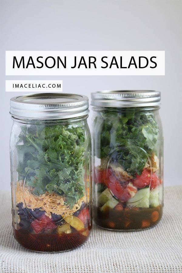 Quick and Easy Mason Jar Salads