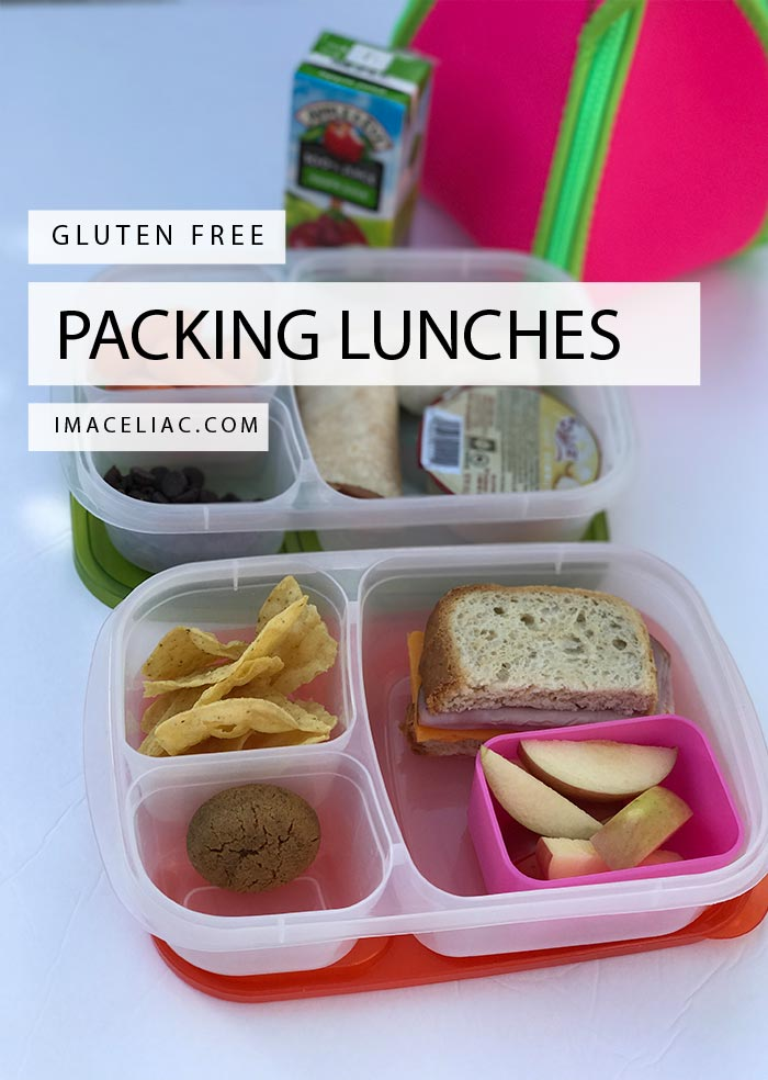 Packing Gluten Free Lunches