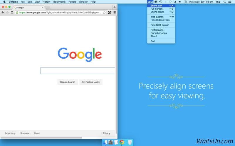 Split Screen for Mac 3.9 激活版 - 实用的窗口大小控制工具