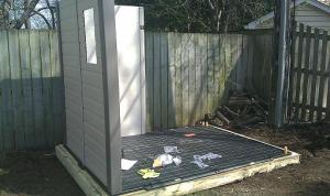 shed walls