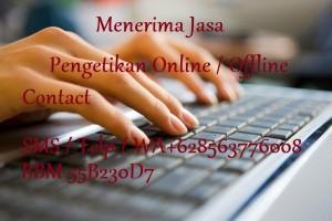 Terima Jasa Pengetikan Online / Offline