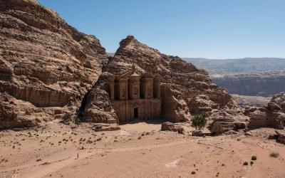 Al-Deir gebouw in Petra Jordanië