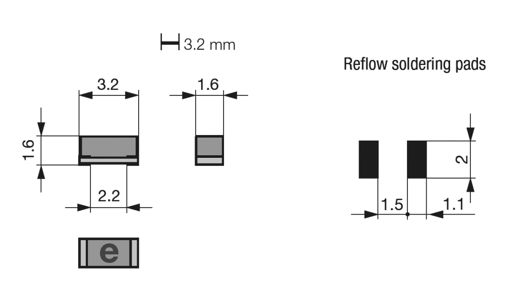 medium resolution of surface mount very fast acting chip fuse