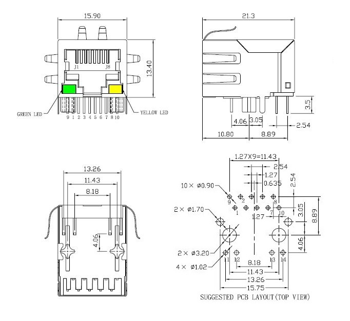 wiring rj45 connector