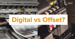 Digital vs Offset Image