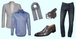 tenue professionnelle, costume homme, style casual