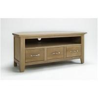 Mayfair solid oak living room furniture corner television ...