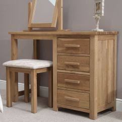 Bedroom Chair With Table Flip Zone Eton Solid Oak Contemporary Furniture Dressing