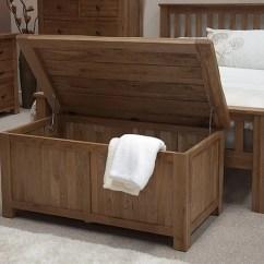 Bedroom Chair With Blanket Indoor Zero Gravity Canada Tilson Solid Rustic Oak Furniture Storage
