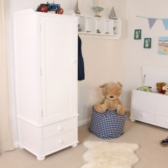 Bedroom Chair For Clothes Chairs A Desk Linden White Painted Childrens Furniture Single